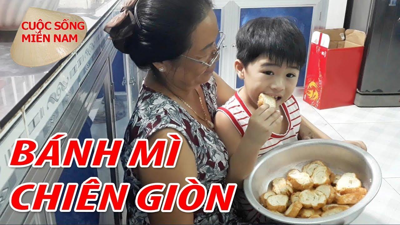 Cách Làm Món Ngon Từ Bánh Mì Nguội Chiên Giòn #namviet