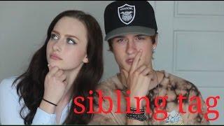 siblings tag w my little sister