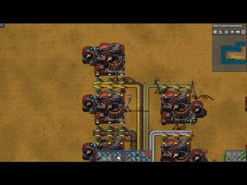 Let's Play Factorio Sea Block Mod - Part 65 - Finishing Induction Furnace Array and Starting Casting