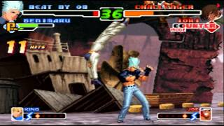 GGPO - The King Of Fighters 2000 - Jonko(JPN) Vs [FR]SeigneurYam(FRA) - Casuals
