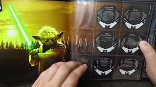 Магнит Звездные войны ПОЛНЫЙ ОБЗОР АКЦИИ КОСМО-ЖЕТОНЫ открываю 15 жетонов и правила игры