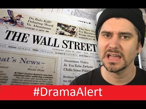 I Declare War on the Wall Street Journal! #DramaAlert H3h3,  RiceGum & Gabbie , DallMyD & Clown!