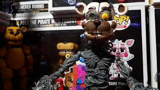 Molten freddy custom  action figure review