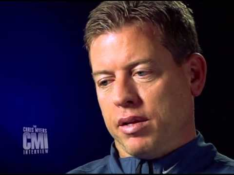 Chris Myers interviews Troy Aikman