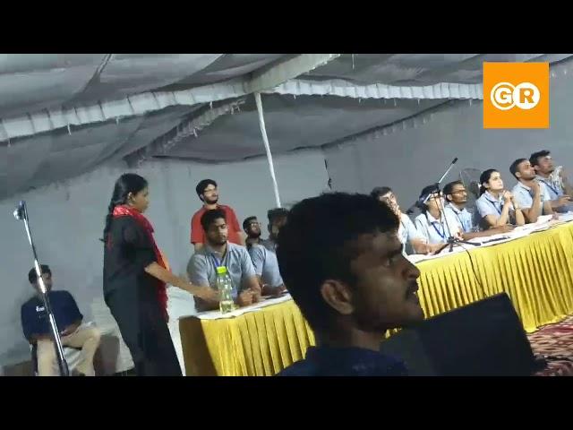 JNUSU Election 2019 | Left Unite की Aishe Ghosh के बीच भाषण में मारपीट, देखें Full Uncut Video