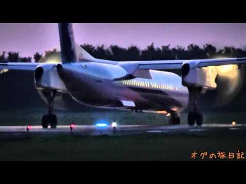 新潟空港(KIJ) - 中部国際空港(NGO) ANA ボンバルディア DHC-8-Q400