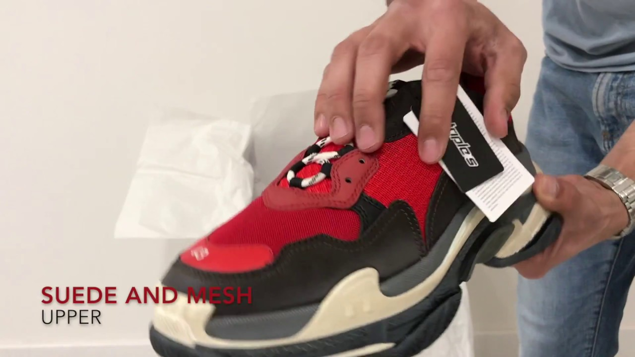 Balenciaga Triple S, Unboxing and On