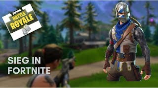 Won with the knight skin!| Fortnite Battle Royal [English]