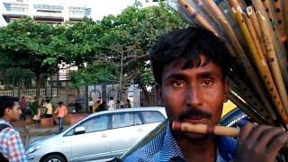 Amazing Basuri or Flute Music outside of Shah Rukh Khan
