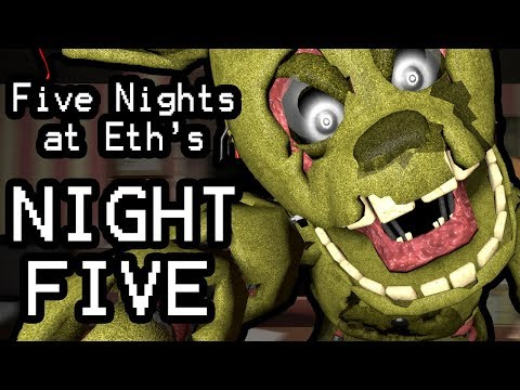 Five Nights at Eth's (Night 5) || FACE YOUR FEARS AND SAVE THEM ALL!!!