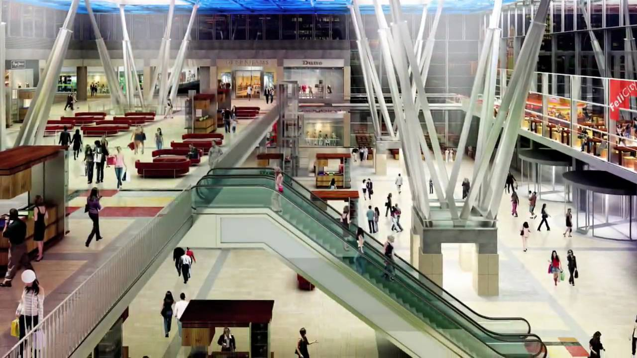 Gray International Shopping Center Felicity In Lublin Poland Youtube