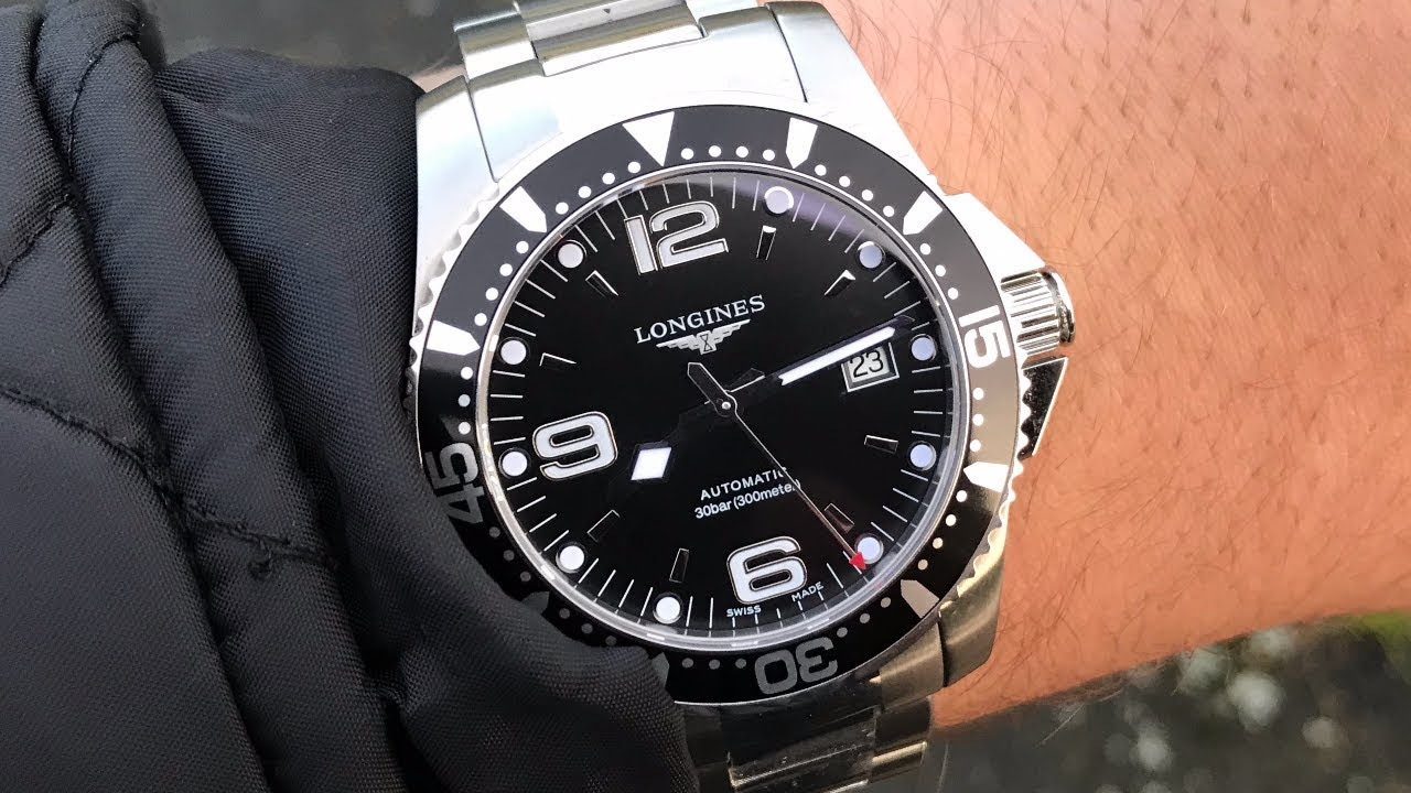 Longines Hydroconquest Automatic >> Longines Hydroconquest 41mm Automatic Pros Cons