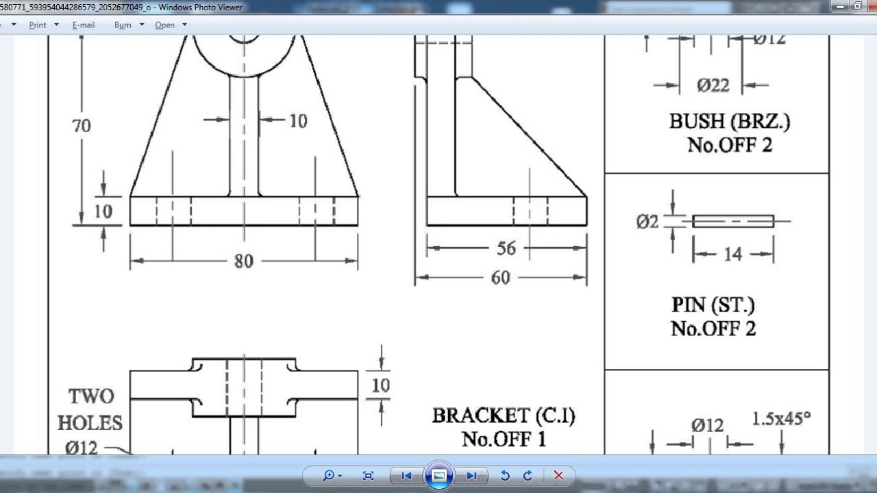 Drawing & Assembly Sheet ( Guide Roller ) By Eng Amir El Said