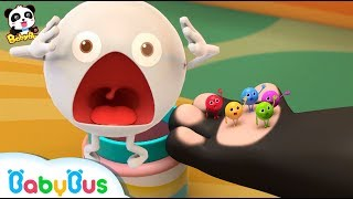 *NEW*무지개사탕으로 변신! 키키가 사탕에게  무지개옷을 입혀 줘요 키키묘묘 냠냠송 베이비버스 인기동요모음 BabyBus