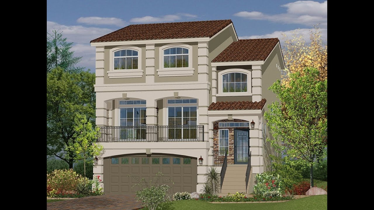 3 Story 3026 Sq Ft House By American West Homes In Las Vegas Nevada Usa