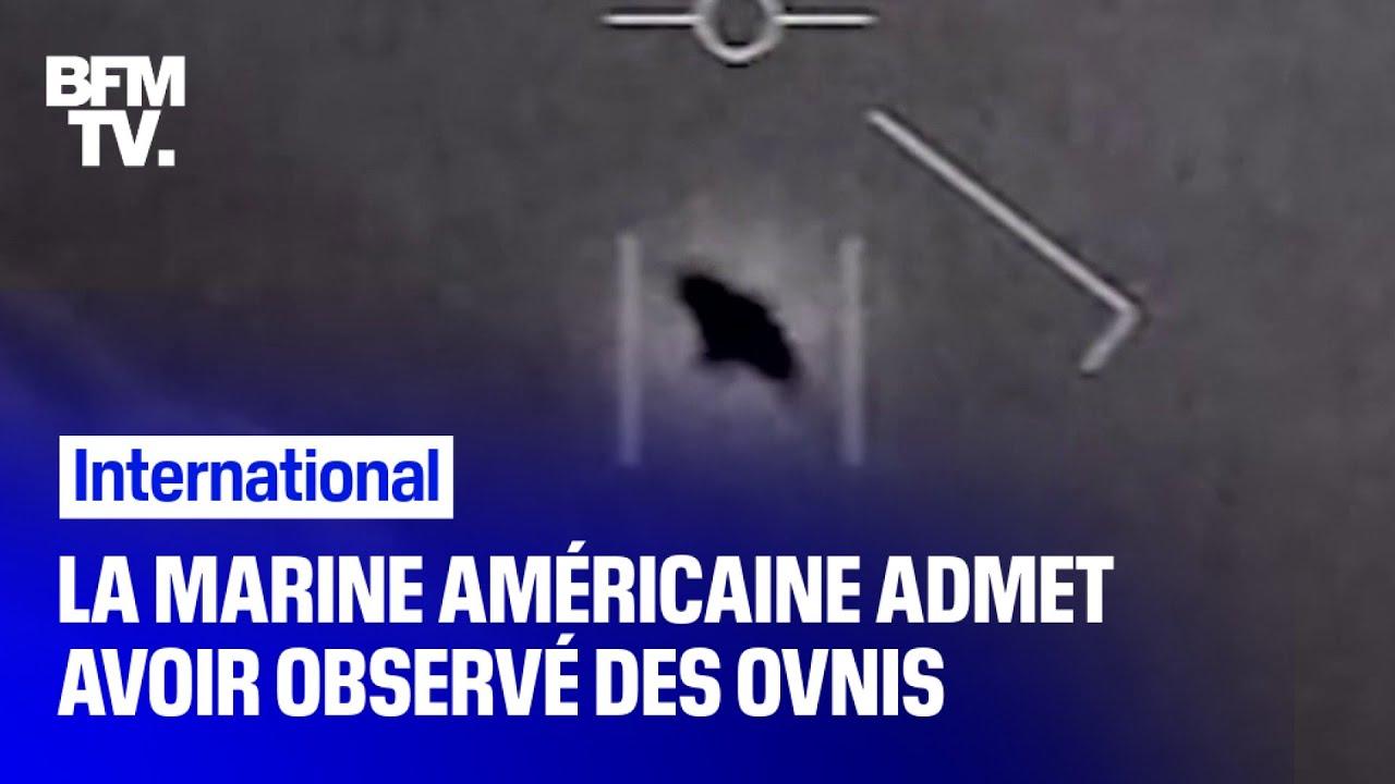 La marine américaine reconnaît avoir observé des ovnis