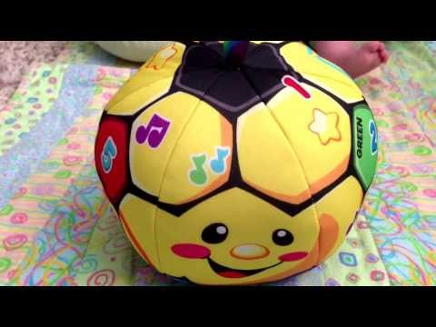 Fisher-price Laugh And Learn Singin' Soccer Ball Review & Demo