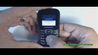 How to Unlock Samsung GT-E1200 Orange,Vodafone,O2,T-mobile etc @ www magicunlock com
