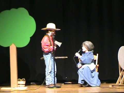 """""""There's a Hole in the Bucket"""" Williams Valley Talent Show twins"""