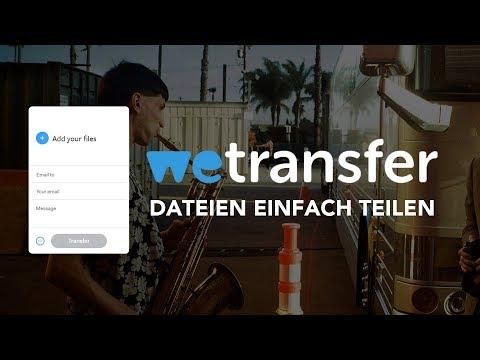 Ganz Einfach Dateien Versenden // Das WeTransfer (Tutorial) Deutsch