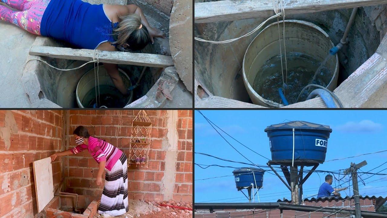 نقص مياه الشفة يفاقم معاناة البرازيليين في أوج أزمة كوفيد-19 | AFP