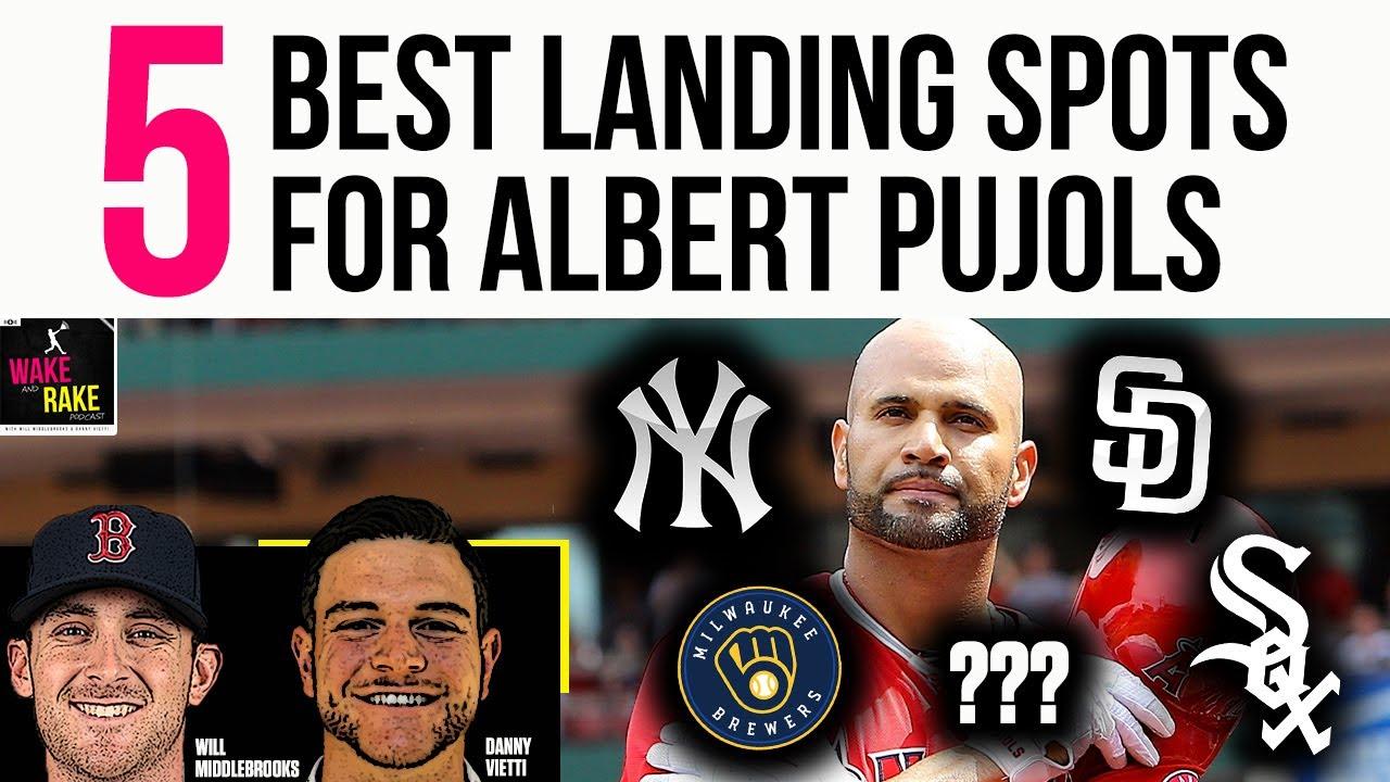 Albert Pujols: Top three landing spots for former Angel