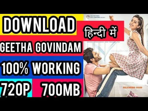 Download How to Download Geetha Govindam Full Movie in Hindi HD | geetha govindam full movie in hindi dubbed