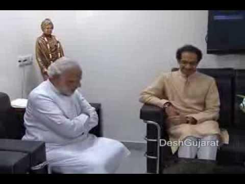 Shiv Sena Chief Uddhav Thackeray meets Gujarat CM Shri Narendra Modi