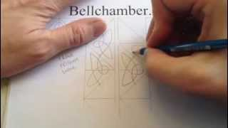 How to Draw Celtic Patterns 82 - Making a Corner with a single line. Part 1of4