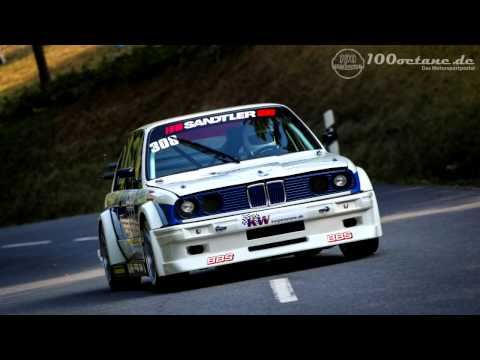 Watch this BMW 320is Hillclimb Car Fly Up a Road at Warp Speed