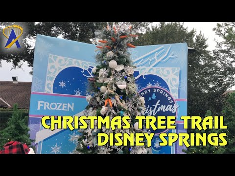 Christmas Tree Trail 2019 at Disney Springs