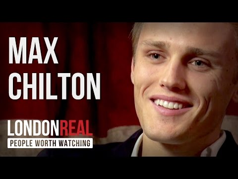 Max Chilton - Need For Speed - PART 1/2 | London Real