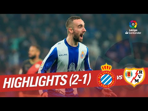 Highlights RCD Espanyol vs Rayo Vallecano (2-1)
