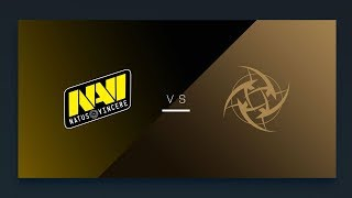 CS:GO - NiP vs. NaVi [Inferno] Map 2 - EU Matchday 5 - ESL Pro League Season 8