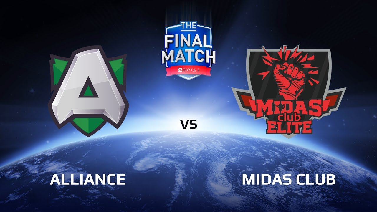 Alliance vs Midas Club, The Final Match LAN-Final, Group B
