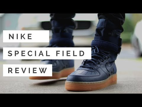 Nike Special Field AF1 - Navy (REVIEW AND ON FEET)