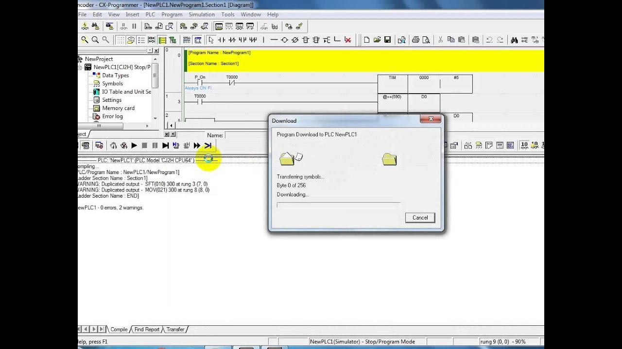 Function Block Diagram Plc Omron Windows 7 Cx Programmer Encoder Youtuberhyoutubecom