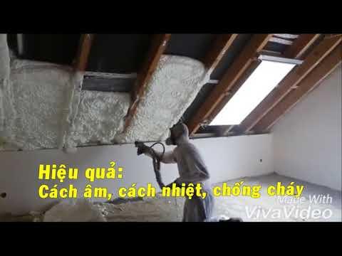 Kinh Doanh Karaoke Phun Foam cách âm, cách nhiệt, chống thấm, chống cháy.