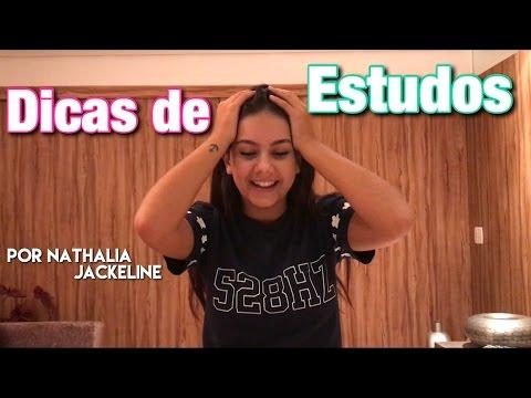 Dicas de Estudo - por Nathália Jackeline