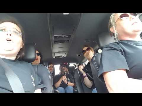 ISL Carpool Karaoke Office Team
