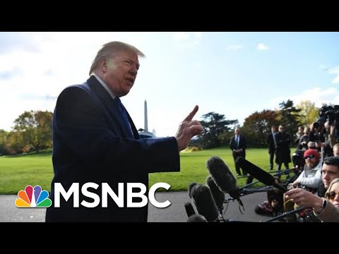 President Donald Trump: 'I Never Asked' Barr To Hold A Press Conference On His Ukraine Call | MSNBC