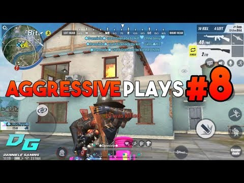 Rules of Survival: Aggressive Playstyle Part 8 | Mobile Gameplay