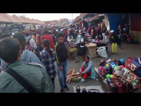 マダガスカル アンタナナリボ 市場の様子/Madagascar Antananarivo market situation