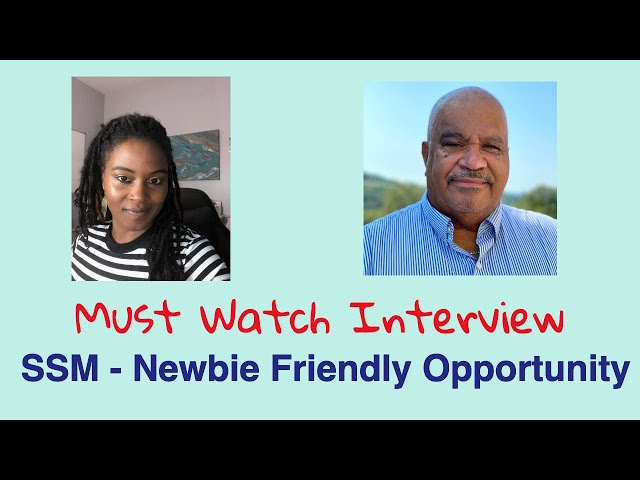 William Long  shares his experience with SSM | Newbie Friendly Opportunity