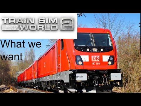 Train Sim World 2 DB BR 187, What We Want |