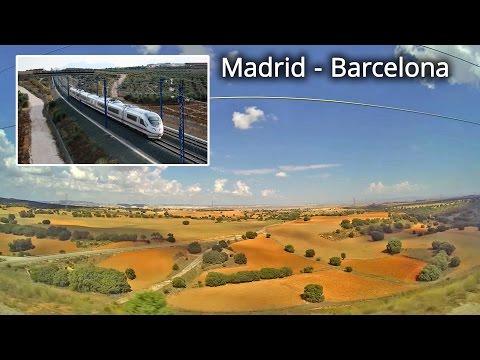 Renfe, AVE 2140 / Barcelona - Madrid, part 3
