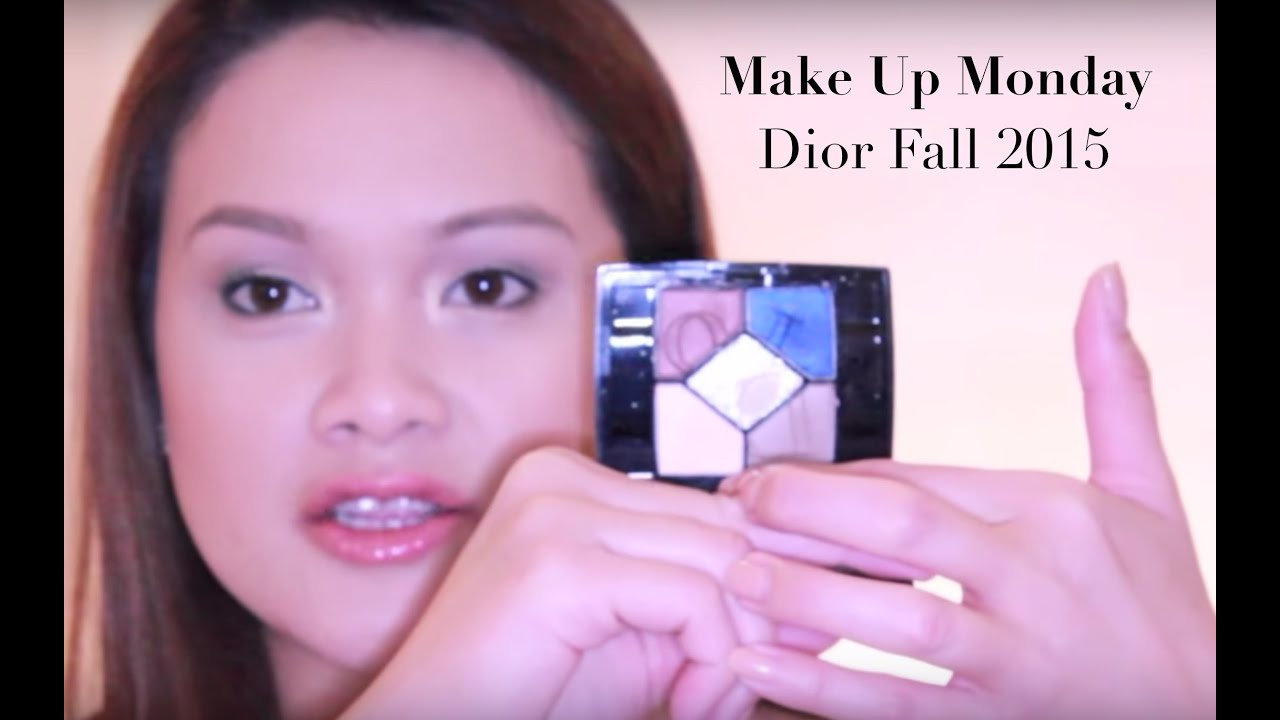 Makeup Monday: Dior Fall 2015: Shimmering Eyes, blushing cheeks ...