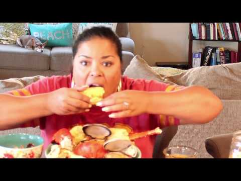 Seafood Mukbang (Let's Chat about Puerto Rico)