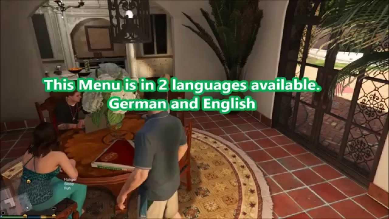 GTA V [PC] Detailed Money Menu By MrGTAmodsgerman