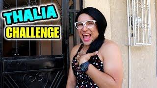 ¿están Ahí Mis Vidas, Me Oyen, Me Escuchan?  Thalia Challenge